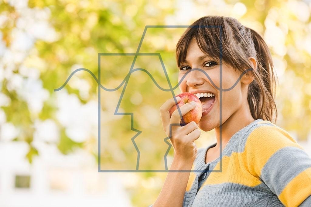 سیب بخورید برای درمان طبیعی افسردگی
